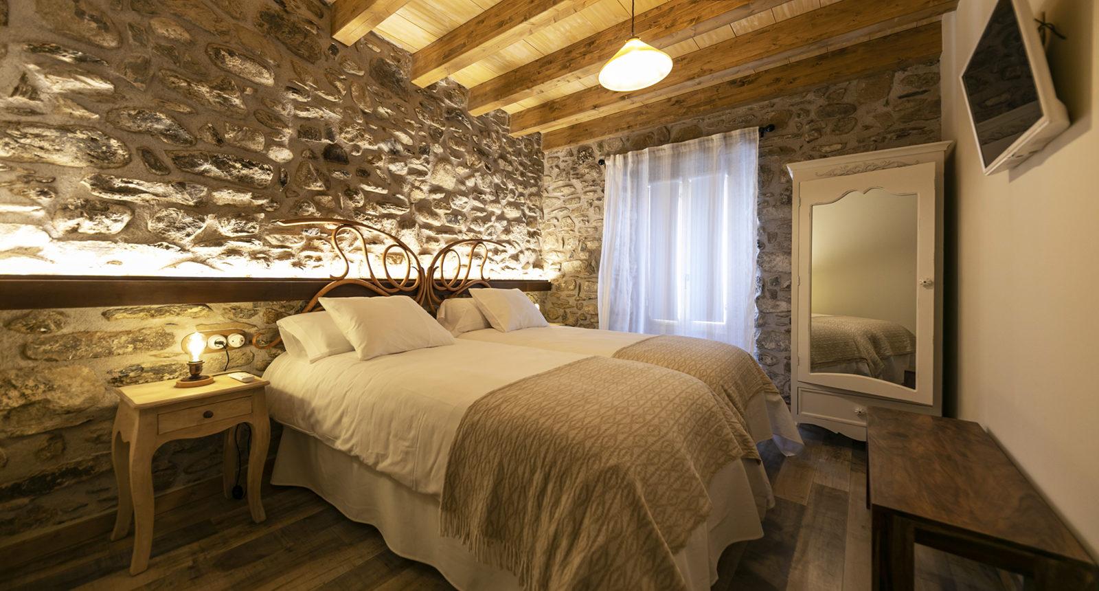 habitación doble con baño36