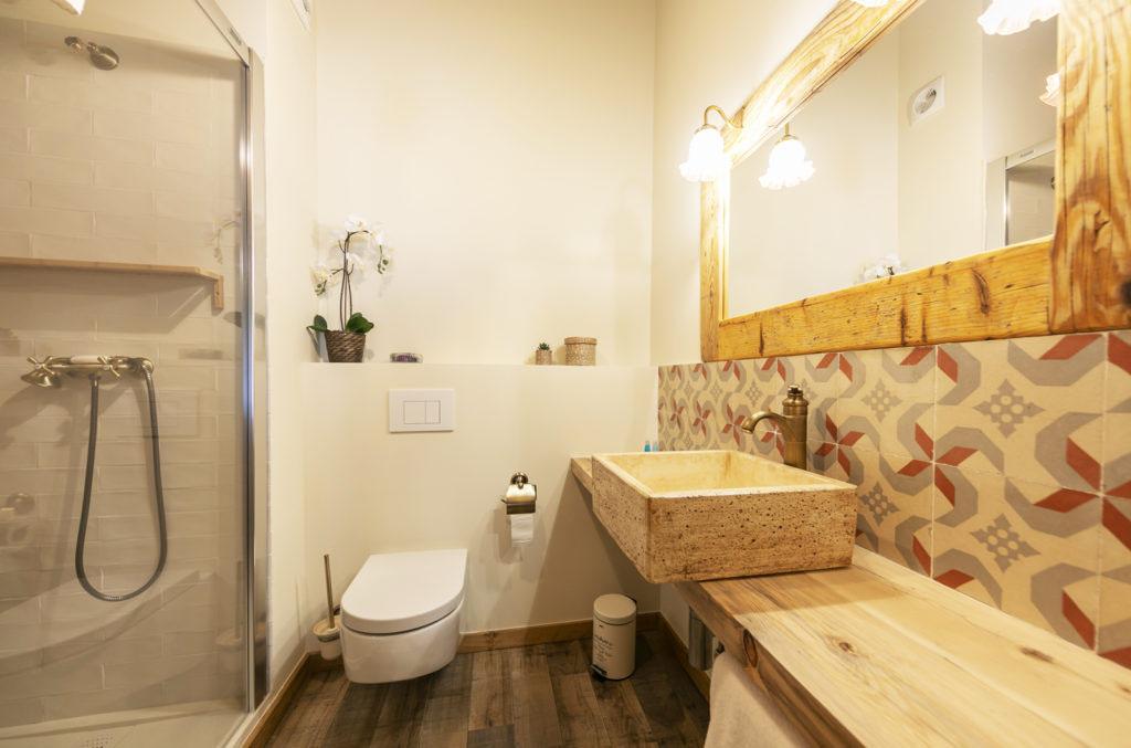baño habitación doble Sport House Nord Sud en Vilallonga de Ter (3)