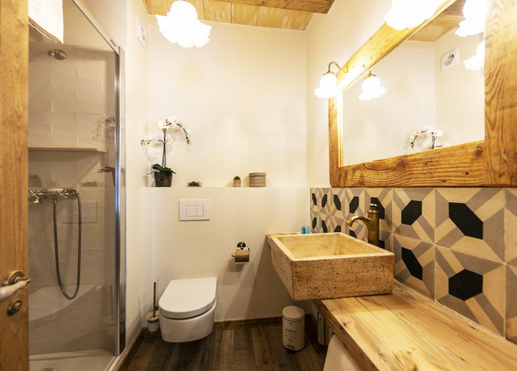 baño habitación doble Sport House Nord Sud en Vilallonga de Ter (6)