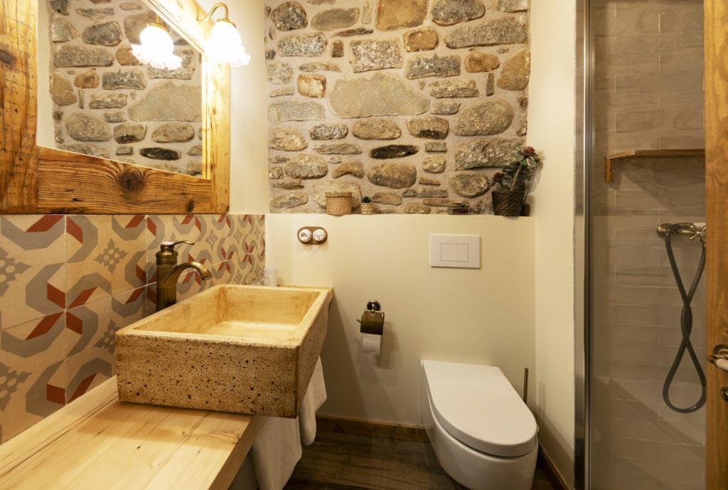baño habitación doble Sport House Nord Sud en Vilallonga de Ter (7)